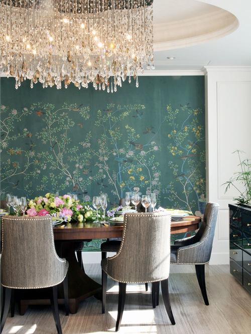 餐厅手绘墙田园风格温馨恬静风格
