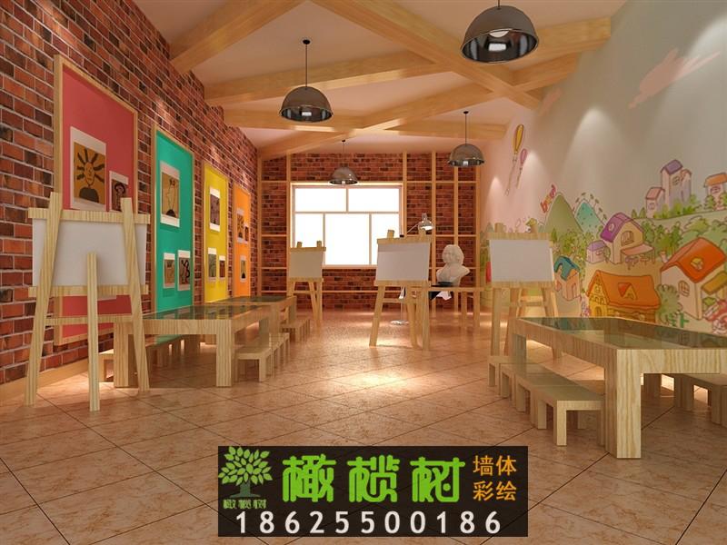 幼儿园美术室设计