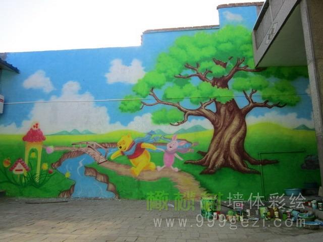 幼儿园彩绘案例