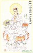 古建彩绘中常见到的菩萨彩绘图像