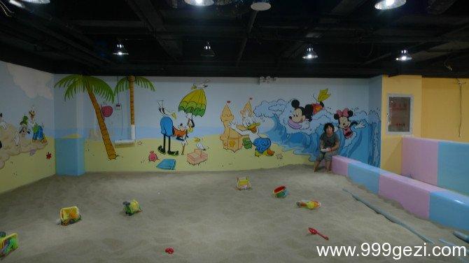 唐老鸭米老鼠游乐场卡通图片