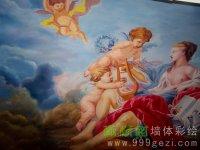 郑州脸谱国际天顶画