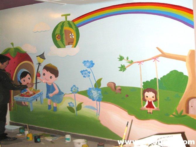 <b>幼儿园室内彩绘案例</b>