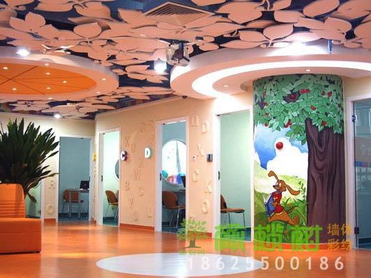 幼儿园大厅彩绘设计