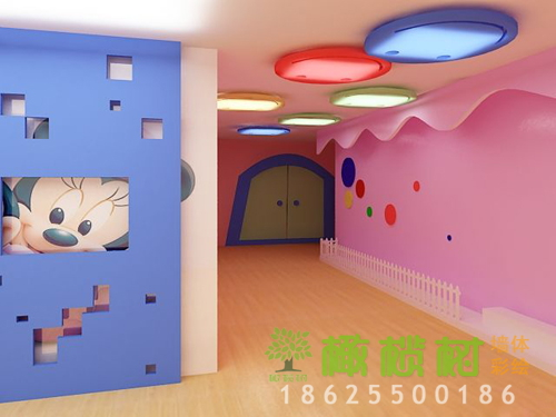 <b>幼儿园走道彩绘设计</b>