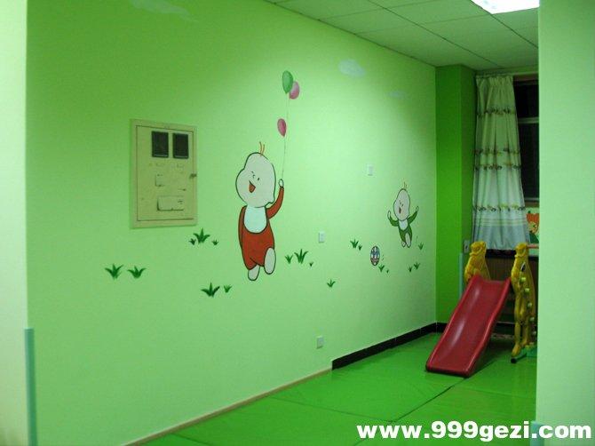 幼儿园室内彩绘素材