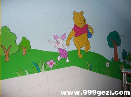 幼儿园楼梯彩绘