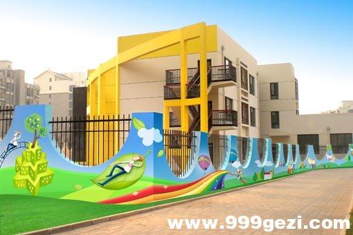 幼儿园室外彩绘素材