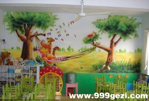 幼儿园室内彩绘素材2
